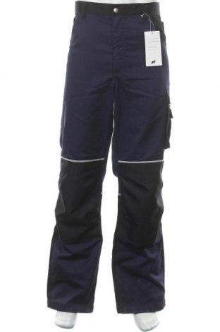 Мъжки панталон, Размер XL, Цвят Син, 65% полиестер, 35% памук, Цена 32,19лв.