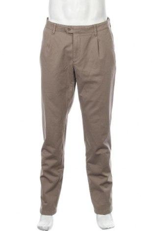 Мъжки панталон Brax, Размер L, Цвят Кафяв, 97% памук, 3% еластан, Цена 95,40лв.