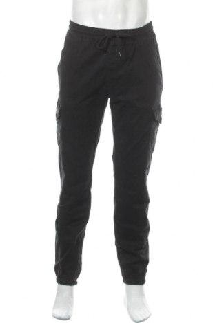Мъжки панталон Champion, Размер L, Цвят Черен, 97% памук, 3% еластан, Цена 49,20лв.