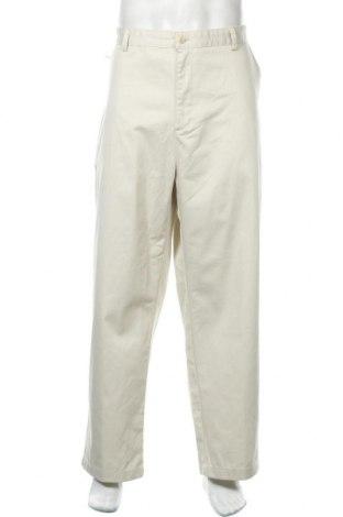 Мъжки панталон Chaps, Размер XXL, Цвят Бежов, Памук, Цена 12,08лв.