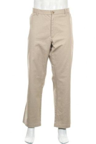 Ανδρικό παντελόνι Denver Hayes, Μέγεθος XL, Χρώμα  Μπέζ, 98% βαμβάκι, 2% ελαστάνη, Τιμή 16,37€