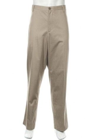 Мъжки панталон Dockers, Размер XXL, Цвят Бежов, 66% памук, 32% полиестер, 2% еластан, Цена 10,76лв.