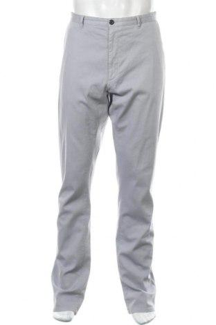 Ανδρικό παντελόνι Hugo Boss, Μέγεθος L, Χρώμα Γκρί, 97% βαμβάκι, 3% ελαστάνη, Τιμή 111,81€