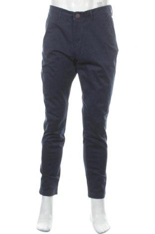 Pánské kalhoty  Jack & Jones, Velikost L, Barva Modrá, 98% bavlna, 2% elastan, Cena  400,00Kč