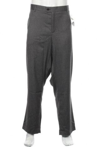 Ανδρικό παντελόνι Kiabi, Μέγεθος 3XL, Χρώμα Γκρί, 73% πολυεστέρας, 25% βισκόζη, 2% ελαστάνη, Τιμή 26,89€