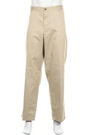 Мъжки панталон L.L. Bean, Размер XXL, Цвят Бежов, 65% полиестер, 35% памук, Цена 28,35лв.