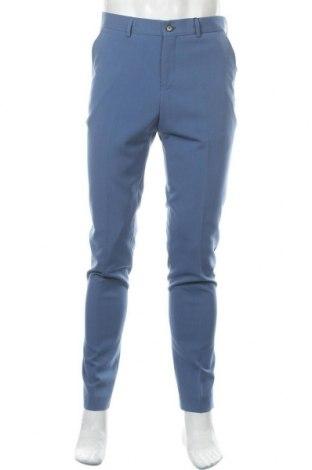 Pantaloni de bărbați Lindbergh, Mărime M, Culoare Albastru, 68% poliester, 30% viscoză, 2% elastan, Preț 102,47 Lei