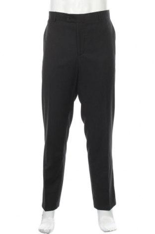 Pánské kalhoty  Man's World, Velikost XL, Barva Černá, 65% polyester, 35% viskóza, Cena  500,00Kč