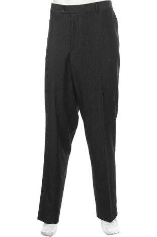 Мъжки панталон Man's World, Размер XXL, Цвят Черен, 78% полиестер, 18% вискоза, 4% еластан, Цена 48,00лв.