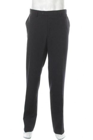 Мъжки панталон Man's World, Размер XL, Цвят Син, 100% полиестер, Цена 26,91лв.