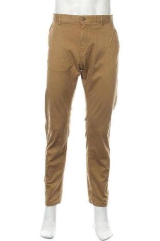 Ανδρικό παντελόνι Massimo Dutti, Μέγεθος XL, Χρώμα  Μπέζ, Τιμή 27,77€