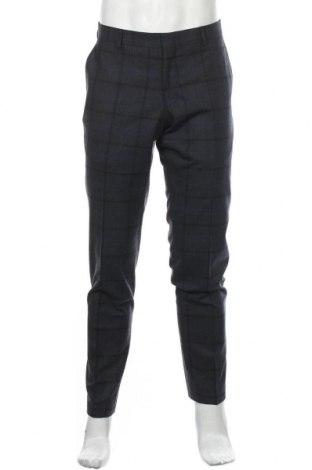 Ανδρικό παντελόνι Michael Kors, Μέγεθος L, Χρώμα Μπλέ, 52% μαλλί, 48% πολυαμίδη, Τιμή 62,40€