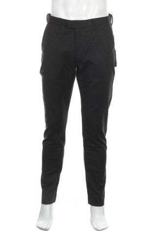 Мъжки панталон Michael Kors, Размер L, Цвят Черен, 98% памук, 2% еластан, Цена 173,40лв.