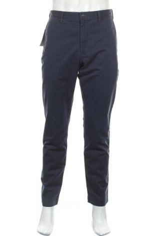 Ανδρικό παντελόνι Polo By Ralph Lauren, Μέγεθος L, Χρώμα Μπλέ, 97% βαμβάκι, 3% ελαστάνη, Τιμή 58,45€