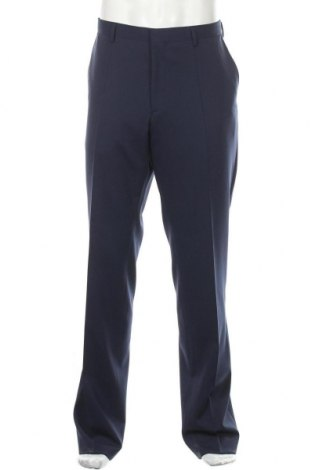 Мъжки панталон Roy Robson, Размер XL, Цвят Син, 54% полиестер, 44% вълна, 2% еластан, Цена 119,25лв.