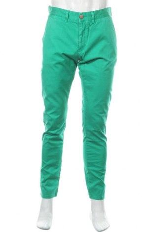 Ανδρικό παντελόνι SUN68, Μέγεθος L, Χρώμα Πράσινο, 98% βαμβάκι, 2% ελαστάνη, Τιμή 18,02€