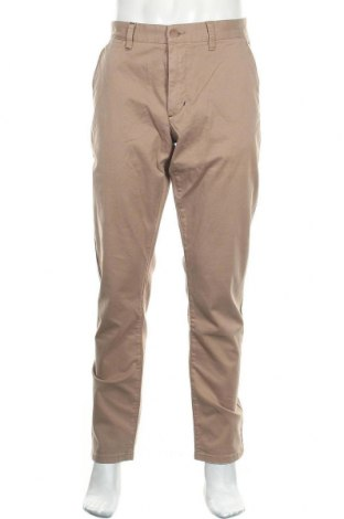 Ανδρικό παντελόνι SUN68, Μέγεθος L, Χρώμα Καφέ, 98% βαμβάκι, 2% ελαστάνη, Τιμή 20,04€