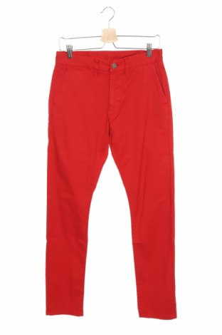 Ανδρικό παντελόνι SUN68, Μέγεθος S, Χρώμα Κόκκινο, 98% βαμβάκι, 2% ελαστάνη, Τιμή 16,52€