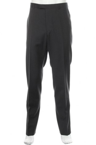 Ανδρικό παντελόνι Strellson, Μέγεθος L, Χρώμα Γκρί, Μαλλί, Τιμή 28,69€