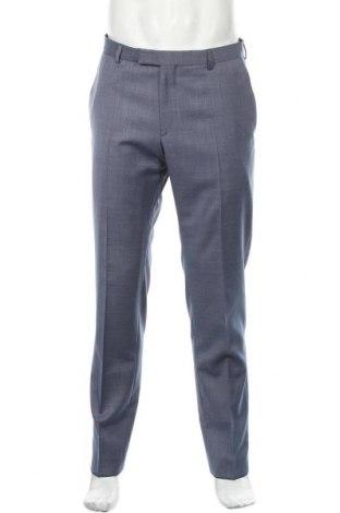 Ανδρικό παντελόνι Strellson, Μέγεθος L, Χρώμα Μπλέ, 74% μαλλί, 17% πολυεστέρας, 9% πολυαμίδη, Τιμή 28,69€