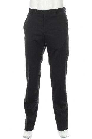Ανδρικό παντελόνι Strellson, Μέγεθος M, Χρώμα Μαύρο, 98% μαλλί, 2% ελαστάνη, Τιμή 28,69€