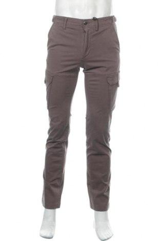Мъжки панталон Timberland, Размер S, Цвят Сив, 97% памук, 3% еластан, Цена 111,75лв.