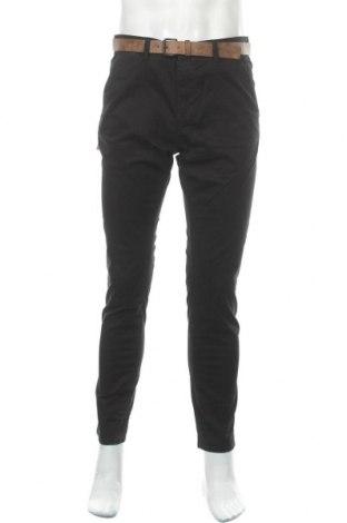 Мъжки панталон Tom Tailor, Размер L, Цвят Черен, 97% памук, 3% еластан, Цена 66,75лв.