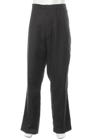 Мъжки панталон Vinci, Размер XXL, Цвят Черен, 65% полиестер, 35% вискоза, Цена 26,57лв.