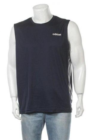 Мъжки потник Adidas, Размер XL, Цвят Син, Полиестер, Цена 23,10лв.