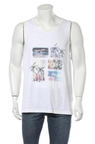 Ανδρική αμάνικη μπλούζα Crane, Μέγεθος XL, Χρώμα Λευκό, Βαμβάκι, Τιμή 8,02€