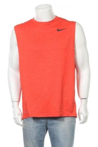 Мъжки потник Nike, Размер XL, Цвят Оранжев, Полиестер, Цена 23,94лв.