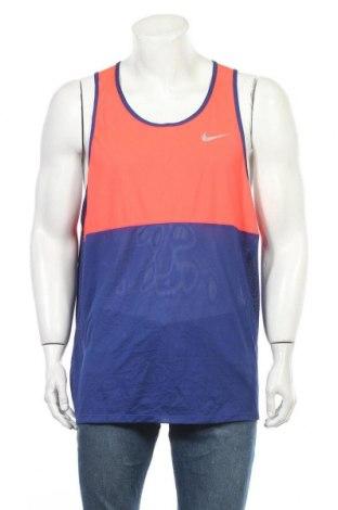 Мъжки потник Nike, Размер XXL, Цвят Син, Полиестер, Цена 23,10лв.