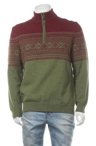Мъжки пуловер Christian Berg, Размер M, Цвят Зелен, Цена 24,78лв.