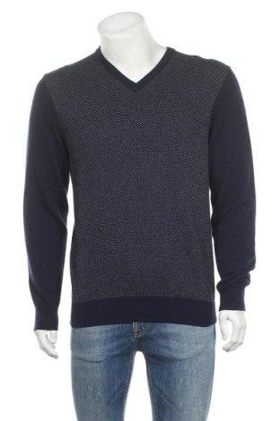 Мъжки пуловер Christian Berg, Размер M, Цвят Син, Цена 22,08лв.