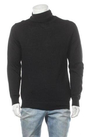 Мъжки пуловер Christian Berg, Размер XL, Цвят Черен, 50% вълна, 50% полиакрил, Цена 17,48лв.