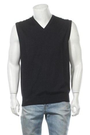 Мъжки пуловер Christian Berg, Размер XL, Цвят Син, 50% вълна, 50% полиакрил, Цена 19,78лв.