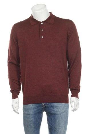 Мъжки пуловер Christian Berg, Размер M, Цвят Червен, Цена 15,87лв.