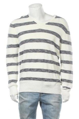 Мъжки пуловер Christian Berg, Размер M, Цвят Бял, Цена 17,11лв.