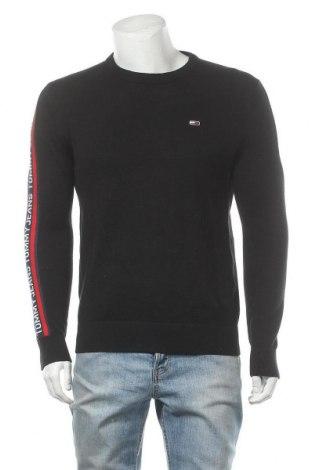 Ανδρικό πουλόβερ Tommy Hilfiger, Μέγεθος S, Χρώμα Μαύρο, Βαμβάκι, Τιμή 53,74€