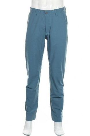 Мъжки спортен панталон Under Armour, Размер M, Цвят Син, 52% полиестер, 48% еластан, Цена 77,40лв.