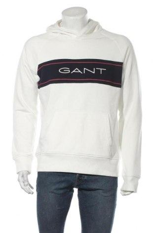 Мъжки суичър Gant, Размер XL, Цвят Бял, 87% памук, 13% полиестер, Цена 89,06лв.