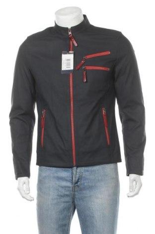 Ανδρικό δερμάτινο μπουφάν Giorgio Di Mare, Μέγεθος L, Χρώμα Μπλέ, Γνήσιο δέρμα, Τιμή 109,01€