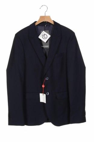 Ανδρικό σακάκι Bruno Banani, Μέγεθος S, Χρώμα Μπλέ, 75% πολυεστέρας, 25% βισκόζη, Τιμή 16,39€