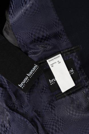 Ανδρικό σακάκι Bruno Banani, Μέγεθος S, Χρώμα Μπλέ, 75% πολυεστέρας, 25% βισκόζη, Τιμή 61,47€
