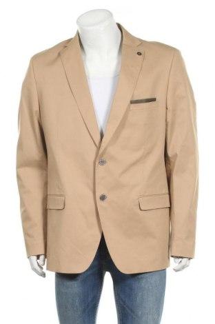 Мъжко сако Bruno Banani, Размер XL, Цвят Бежов, 98% памук, 2% еластан, Цена 116,07лв.