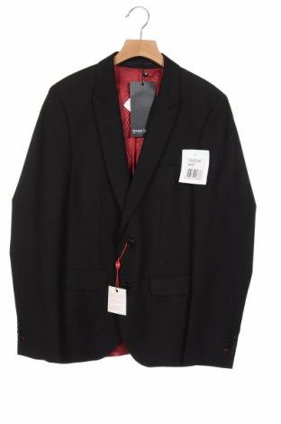 Мъжко сако Bruno Banani, Размер XS, Цвят Черен, 75% полиестер, 25% вискоза, Цена 116,07лв.