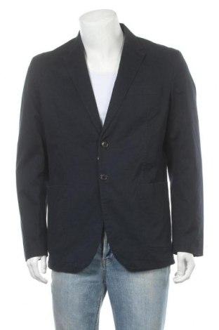 Мъжко сако Jack & Jones, Размер XL, Цвят Син, 98% памук, 2% еластан, Цена 81,75лв.