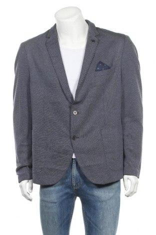 Sacou de bărbați Paul Hunter, Mărime XL, Culoare Albastru, 66% viscoză, 34% poliester, Preț 93,04 Lei
