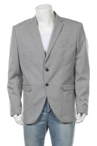 Мъжко сако Selected Homme, Размер XL, Цвят Сив, 65% полиестер, 33% вискоза, 2% еластан, Цена 145,27лв.