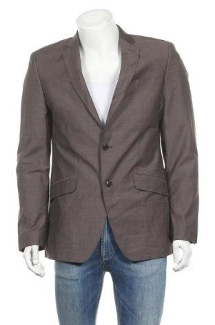 Ανδρικό σακάκι Sir Oliver, Μέγεθος L, Χρώμα Γκρί, 55% πολυεστέρας, 45% μαλλί, Τιμή 8,85€